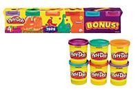 """Hasbro Play Doh """"Neonfarben"""", Knete, 6er-Pack - Produktdetailbild 2"""