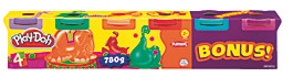 """Hasbro Play Doh """"Neonfarben"""", Knete, 6er-Pack - Produktdetailbild 1"""