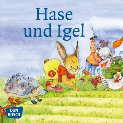 Hase und Igel, Mini-Bilderbuch, Jacob Grimm, Wilhelm Grimm