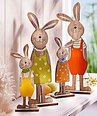 "Hasenfamilie ""Hopsi"", 4-teilig - Produktdetailbild 1"