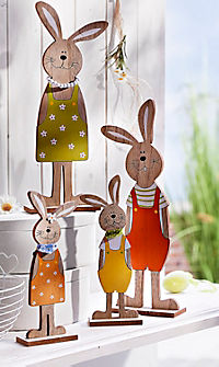 "Hasenfamilie ""Hopsi"", 4-teilig - Produktdetailbild 2"