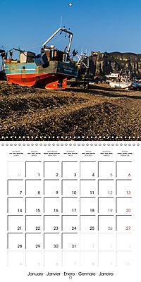 Hastings and St Leonards-on-Sea (Wall Calendar 2019 300 × 300 mm Square) - Produktdetailbild 1