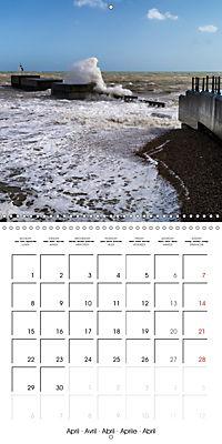 Hastings and St Leonards-on-Sea (Wall Calendar 2019 300 × 300 mm Square) - Produktdetailbild 4