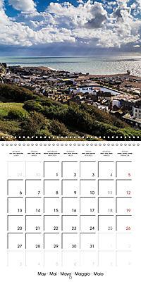 Hastings and St Leonards-on-Sea (Wall Calendar 2019 300 × 300 mm Square) - Produktdetailbild 5