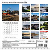 Hastings and St Leonards-on-Sea (Wall Calendar 2019 300 × 300 mm Square) - Produktdetailbild 13