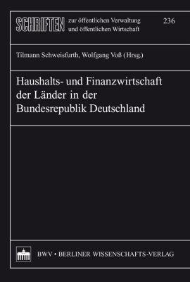 Haushalts- und Finanzwirtschaft der Länder der Bundesrepublik Deutschland
