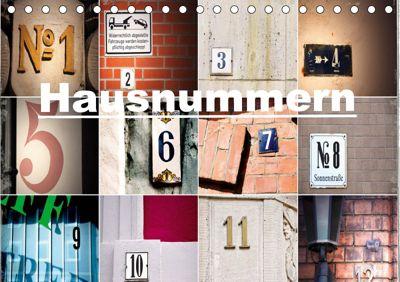 Hausnummern (Tischkalender 2019 DIN A5 quer), andrea aplowski