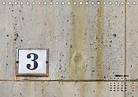 Hausnummern (Tischkalender 2019 DIN A5 quer) - Produktdetailbild 3