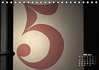 Hausnummern (Tischkalender 2019 DIN A5 quer) - Produktdetailbild 5