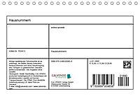 Hausnummern (Tischkalender 2019 DIN A5 quer) - Produktdetailbild 13