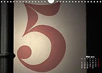 Hausnummern (Wandkalender 2019 DIN A4 quer) - Produktdetailbild 5