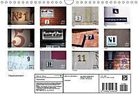 Hausnummern (Wandkalender 2019 DIN A4 quer) - Produktdetailbild 13