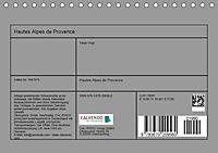 Hautes Alpes de Provence (Tischkalender 2019 DIN A5 quer) - Produktdetailbild 13