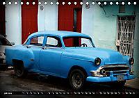 HAVANA BLUE - Blaue Oldtimer auf Kuba (Tischkalender 2019 DIN A5 quer) - Produktdetailbild 7