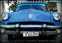 HAVANA BLUE - Blaue Oldtimer auf Kuba (Tischkalender 2019 DIN A5 quer) - Produktdetailbild 11