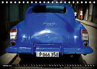 HAVANA BLUE - Blaue Oldtimer auf Kuba (Tischkalender 2019 DIN A5 quer) - Produktdetailbild 10