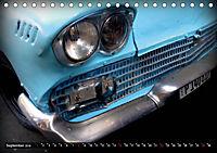 HAVANA BLUE - Blaue Oldtimer auf Kuba (Tischkalender 2019 DIN A5 quer) - Produktdetailbild 9