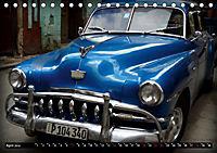 HAVANA BLUE - Blaue Oldtimer auf Kuba (Tischkalender 2019 DIN A5 quer) - Produktdetailbild 4