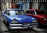 HAVANA BLUE - Blaue Oldtimer auf Kuba (Tischkalender 2019 DIN A5 quer) - Produktdetailbild 6