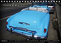HAVANA BLUE - Blaue Oldtimer auf Kuba (Tischkalender 2019 DIN A5 quer) - Produktdetailbild 2
