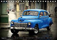 HAVANA BLUE - Blaue Oldtimer auf Kuba (Tischkalender 2019 DIN A5 quer) - Produktdetailbild 8