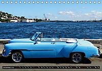 HAVANA BLUE - Blaue Oldtimer auf Kuba (Tischkalender 2019 DIN A5 quer) - Produktdetailbild 12