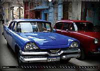 HAVANA BLUE - Blaue Oldtimer auf Kuba (Wandkalender 2019 DIN A2 quer) - Produktdetailbild 6