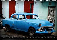 HAVANA BLUE - Blaue Oldtimer auf Kuba (Wandkalender 2019 DIN A2 quer) - Produktdetailbild 7
