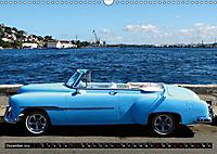 HAVANA BLUE - Blaue Oldtimer auf Kuba (Wandkalender 2019 DIN A3 quer) - Produktdetailbild 12