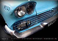 HAVANA BLUE - Blaue Oldtimer auf Kuba (Wandkalender 2019 DIN A2 quer) - Produktdetailbild 9