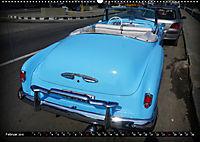 HAVANA BLUE - Blaue Oldtimer auf Kuba (Wandkalender 2019 DIN A2 quer) - Produktdetailbild 2