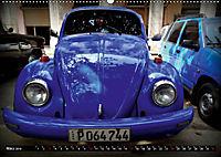 HAVANA BLUE - Blaue Oldtimer auf Kuba (Wandkalender 2019 DIN A2 quer) - Produktdetailbild 3