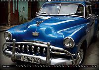 HAVANA BLUE - Blaue Oldtimer auf Kuba (Wandkalender 2019 DIN A2 quer) - Produktdetailbild 4
