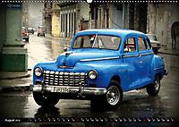 HAVANA BLUE - Blaue Oldtimer auf Kuba (Wandkalender 2019 DIN A2 quer) - Produktdetailbild 8