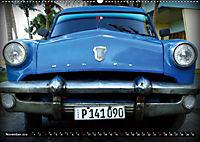 HAVANA BLUE - Blaue Oldtimer auf Kuba (Wandkalender 2019 DIN A2 quer) - Produktdetailbild 11
