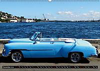 HAVANA BLUE - Blaue Oldtimer auf Kuba (Wandkalender 2019 DIN A2 quer) - Produktdetailbild 12