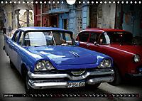 HAVANA BLUE - Blaue Oldtimer auf Kuba (Wandkalender 2019 DIN A4 quer) - Produktdetailbild 6