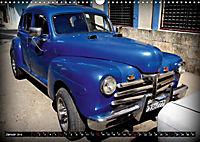 HAVANA BLUE - Blaue Oldtimer auf Kuba (Wandkalender 2019 DIN A3 quer) - Produktdetailbild 1