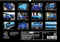 HAVANA BLUE - Blaue Oldtimer auf Kuba (Wandkalender 2019 DIN A3 quer) - Produktdetailbild 13