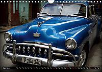 HAVANA BLUE - Blaue Oldtimer auf Kuba (Wandkalender 2019 DIN A4 quer) - Produktdetailbild 4