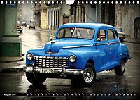 HAVANA BLUE - Blaue Oldtimer auf Kuba (Wandkalender 2019 DIN A4 quer) - Produktdetailbild 8