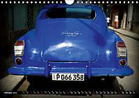HAVANA BLUE - Blaue Oldtimer auf Kuba (Wandkalender 2019 DIN A4 quer) - Produktdetailbild 10