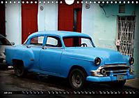 HAVANA BLUE - Blaue Oldtimer auf Kuba (Wandkalender 2019 DIN A4 quer) - Produktdetailbild 7
