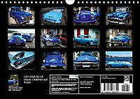 HAVANA BLUE - Blaue Oldtimer auf Kuba (Wandkalender 2019 DIN A4 quer) - Produktdetailbild 13