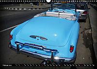 HAVANA BLUE - Blaue Oldtimer auf Kuba (Wandkalender 2019 DIN A3 quer) - Produktdetailbild 2