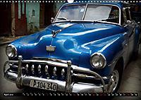 HAVANA BLUE - Blaue Oldtimer auf Kuba (Wandkalender 2019 DIN A3 quer) - Produktdetailbild 4