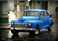 HAVANA BLUE - Blaue Oldtimer auf Kuba (Wandkalender 2019 DIN A3 quer) - Produktdetailbild 8