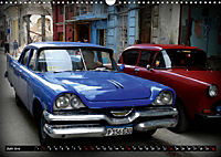 HAVANA BLUE - Blaue Oldtimer auf Kuba (Wandkalender 2019 DIN A3 quer) - Produktdetailbild 6