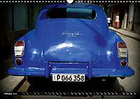 HAVANA BLUE - Blaue Oldtimer auf Kuba (Wandkalender 2019 DIN A3 quer) - Produktdetailbild 10