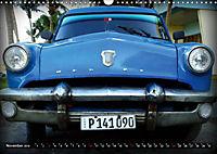 HAVANA BLUE - Blaue Oldtimer auf Kuba (Wandkalender 2019 DIN A3 quer) - Produktdetailbild 11